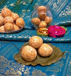 Taste of Mysore: Ellu Unde ~ Til Ke Laddu