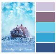 Color Palette Beach Ocean Sea Paint Schemes, Color Schemes, Beach Color, Pallet Painting, Color Palate, Colour Board, Color Blending, Coordinating Colors, Color Of Life
