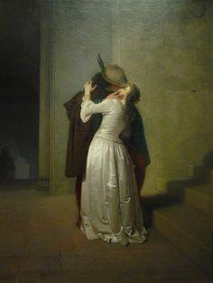 """Hayez """"il bacio""""  Milano, mostra 2015,  Gallerie D'Italia"""