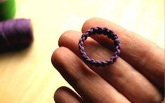 Have you ever wondered how to make a macramé hemp ring? Watch closely as I show you how you can transform a boring piece of string or cord into a rad eco friendly ring…just like that! Whether you want to make some to sell for your lil' biz or just mak Macrame Rings, Macrame Jewelry, Macrame Bracelets, Diy Hemp Bracelets, Hemp Jewelry, Jewelry Crafts, Handmade Jewelry, Jewellery, Micro Macramé