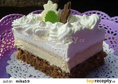 Řez Caffé Latte Czech Recipes, Russian Recipes, My Favorite Food, Favorite Recipes, Delish Cakes, Cake Recipes, Dessert Recipes, Mini Cheesecakes, Pavlova
