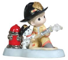 Precious Moments Fireman with Puppy and Hydrant Figurine Precious Moments,http://www.amazon.com/dp/B005QAJTRY/ref=cm_sw_r_pi_dp_RStatb07ZQYR0D29