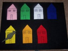 Mouse mouse are you in the (name of color) house?