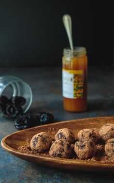 Healthy sugar-free chocolate truffles @dessertfortwo