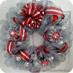 Deco Mesh Wreath