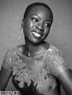 Backstage Snaps at the Essence Hollywood Luncheon | DANAI GURIRA | With no zombies in sight, The Walking Dead actress shows off just how kicka– she looks in couture while attending the Essence luncheon.
