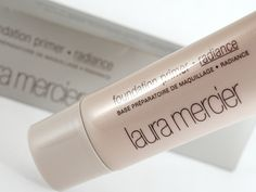 Laura Mercier Radiance Foundation Primer - This is my favorite foundation primer. It's illuminating and gives the best sheen without looking oily. Holy grail item!