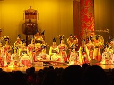 I would like to see Traditional Chinese musical performances at Xi'an.