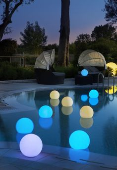 Remote Control Swimming Pool Landscape Lights Light Control Automatic Solar Led Fountain Lights Colorful Water Float Pond Lights Fast Color Lights & Lighting