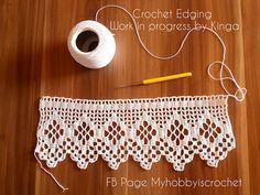 Ravelry: Myhobbyiscrochet's Crochet edging