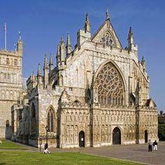 Exeter Cathedral, Devon, UK