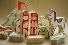 Orochen Forest Family is a wooden puzzle inspired by a stay with one of the smallest remaining ethnic minority groups in Northern China, the Orochen. #orochen #toys #china #ethnic http://phatrice.com/innovators/orochenforestfamily/orochen-forest-family-wooden-toy.html