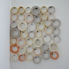 Des Hughes  Masking Tape and Nails, 2003