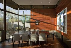 Image 4 of 19 from gallery of The Brown Residence / Lake|Flato Architects. Photograph by Timmerman Photography