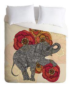 Look at this #zulilyfind! Rosebud Duvet Cover #zulilyfinds