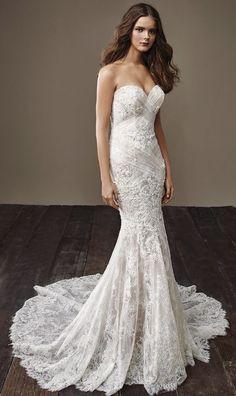 Courtesy of Badgley Mischka Wedding Dresses; www.badgleymischka.com; Wedding dress idea.