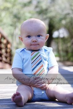 baby tie onsie