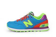 Fraaie New Balance 574 (Blauw) Sneakers van het merk New Balance voor Dames. Uitgevoerd in Blauw gemaakt van Synthetisch. Nu verkrijgbaar voor 0.00 bij Sneakershop.