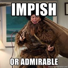 Belsnickel - Impish or ADMIRABLE