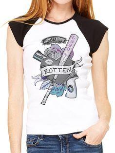 Harley Quinn Rotten Love Ladies T-Shirt