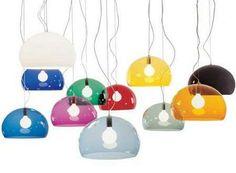 Kartell - FL/Y Transparent Suspension Lamp 9031 at 2Modern