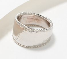 Handmade Sterling Silver, Sterling Silver Jewelry, Beach Jewelry, Wire Jewelry, Italian Jewelry, Ring Size Guide, Hammered Silver, Band Rings, Jewelry Collection
