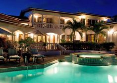 Located in Lockrum, the luxurious Villa Coyaba is a six bedroom house situated on the scenic southern coast of Anguilla, overlooking the mountains of the neighboring island of St. Martin/Maarten.