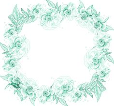 View album on Yandex. Verde Tiffany, Blank Sign, Turquoise Background, Vintage Prints, Art Drawings, Floral Wreath, Card Making, Clip Art, Framed Prints