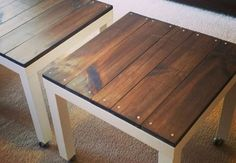 Popular Ikea Lack Table Hacks That Inspire. If you are looking for Ikea Lack Table Hacks That Inspire, You come to the right place. Below are the Ikea Lack Hack, Ikea Lack Table, Ikea Hacks, Diy Hacks, Lack Table Hack, Ikea Side Table, Diy Side Tables, Ikea Hack Nightstand, Outdoor Tables