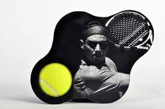 Tennis Ball for Wimbledon by Mónica López, via Behance