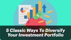 Smart diversification is critical, and a wrong one can end up your career. Follow these 5 classic ways to diversify your investment portfolio #investment #Entreprenuer #business #Finance #savings #Portfolio #entrepreneurship #insighttrending Business Mission, Business Goals, Start Up Business, Business News, Business Planning, Investment Portfolio, Entrepreneurship, Insight, Finance