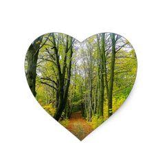#wedding - #Tree Fall Nature Landscapes Sky Destiny Destiny'S Heart Sticker