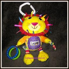 Lamaze Logan Le Lion Jaune Nez Rouge Grelot