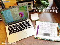Classroom Organization: Lesson Planning for High School