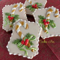 #Christmas #Candy #Cane cookies