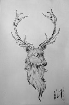 Bozza per tatuaggio #deer