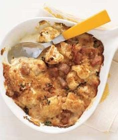 Cauliflower and Ham Gratin | RealSimple.com