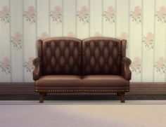 Executive Loveseat by plasticbox at Mod The Sims via Sims 4 Updates