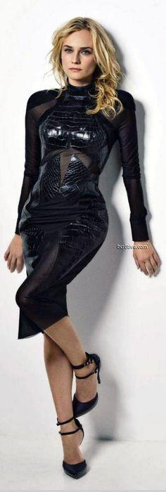 Diane Kruger on the Cover of Glamour Spain Magazine 2012 #josephine#vogel