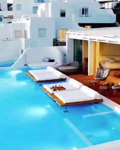 Santorini Luxury Hotels, Luxury Spa, Luxury Life, Cavo Tagoo Mykonos, Greece Hotels, Mykonos Greece, Luxury Holidays, Live Life, Interior Styling