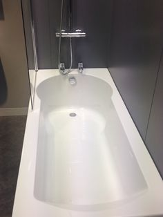 Butter mere 1700 Straight Shower Bath. Incorporating a Straight Bath Shape, With…