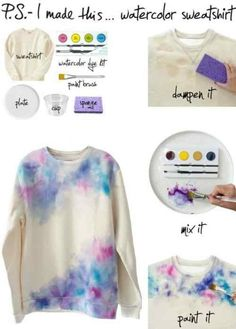 Diy Clourfull Tee In Different Ways (very Interesting) (Must See)including Water,ombere,dot & Other #Beauty #Trusper #Tip