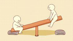 Unidad, balance simetrico