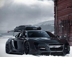 Carbon Fiber Audi R8 Razor GTR For Jon Olsson.