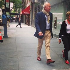 Fashion Grandpas: The Most Adorable Internet Thing Since Cats #refinery29  http://www.refinery29.com/2014/06/69076/fashion-grandpas-instagram#slide1  A way with a scarf and a well-shined shoe are two fashion-grandpa musts.