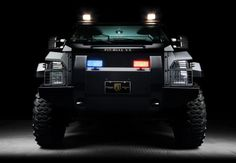 Alpine's Pit-bull VX SWAT Truck - Sweet!..Got Nosy Neighbors/Annoying Ex's? (just fill in the blank) Park this thing at their front door and play Knock-Knock Who's There...lol