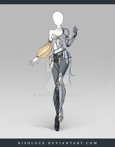 (CLOSED) Adoptable Outfit Auction 109 by Risoluce.deviantart.com on @DeviantArt