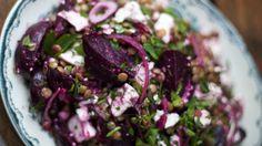 Roasted Beetroot, Feta and Lentil Salad - RTE Food