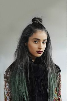 Lunar Tides Hair Slate Grey Juniper Green