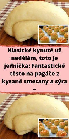 Slovak Recipes, Czech Recipes, Bread And Pastries, Ciabatta, Food 52, Muffins, Baking Recipes, Sweet Treats, Good Food